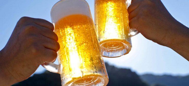 Cerveja Gelada e hidratação